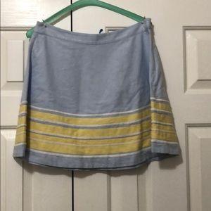 Vineyard Vines lined skirt